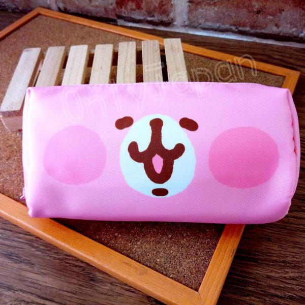 【真愛日本】18050700016方型筆袋化妝包-兔兔大臉卡娜赫拉的小動物兔兔P助筆袋化妝包收納包