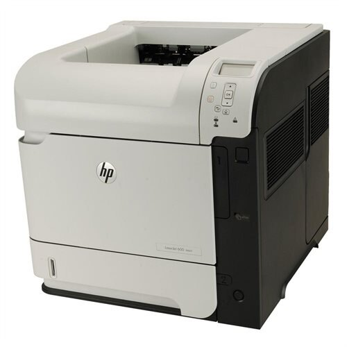 HP LaserJet 600 M601N Monochrome Laser Printer CE989A 2