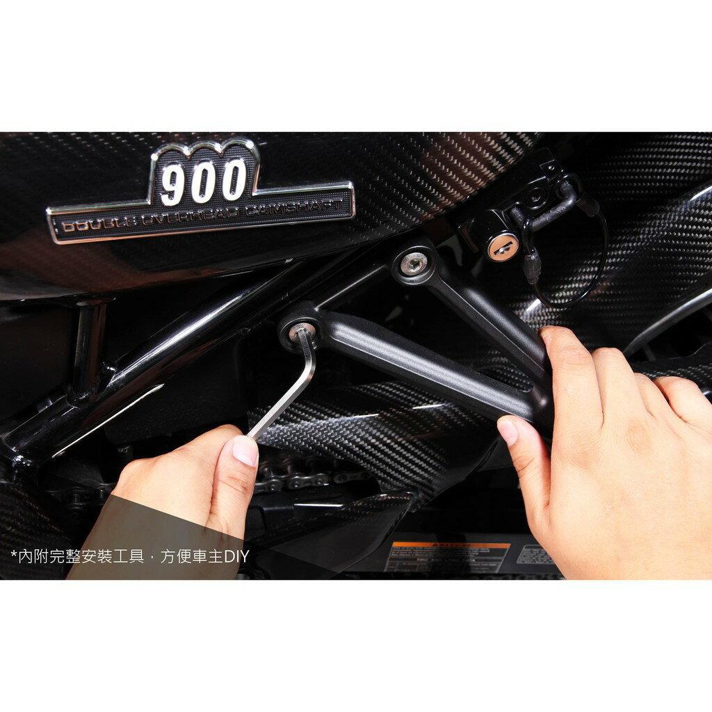 【LFM】SKUNY 小阿魯 專用型 GSX-R150 GSX-S150 安全帽鎖 防盜鎖 安全帽後掛防丟鎖 防偷 防盜 7