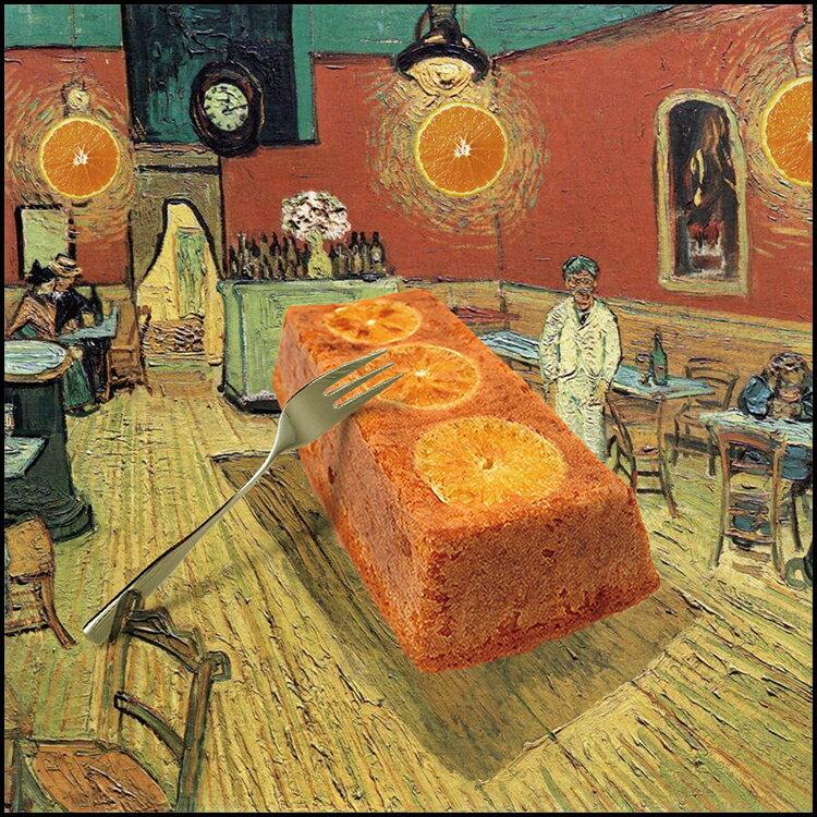 夜間香橙館★君度柳橙磅蛋糕★送禮自用首選★[VB]凡內莎烘焙工作室 0