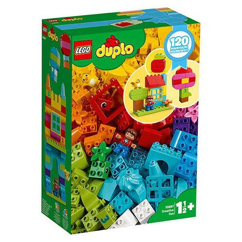 樂高LEGO 10887  Duplo 得寶系列 -歡樂創意顆粒套裝 - 限時優惠好康折扣