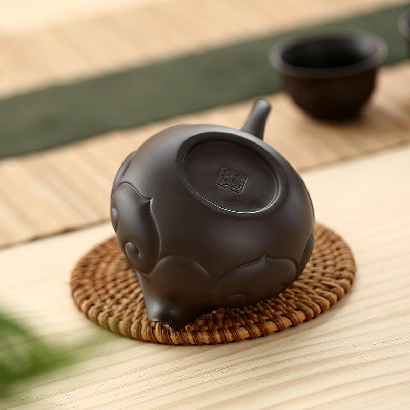 逸峰公道杯茶漏套裝紫砂倒茶分茶器茶海單個創意茶道配件復古公杯