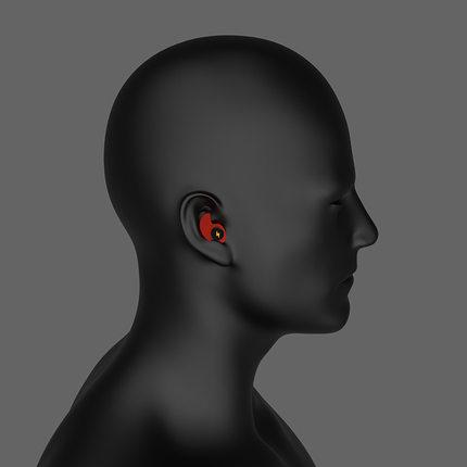 防噪音睡眠耳塞睡覺專用防吵防噪音神器學生宿舍矽膠海綿隔音耳塞『xxs10969』