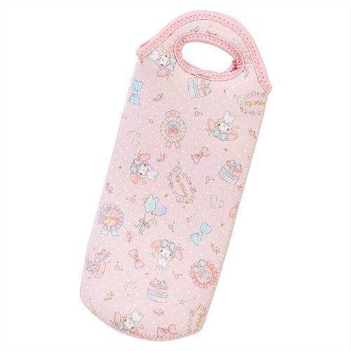 現貨 日本三麗鷗系列凱蒂貓HelloKitty,美樂蒂Melody,雙子星kikilala聯名款 保溫瓶保護套