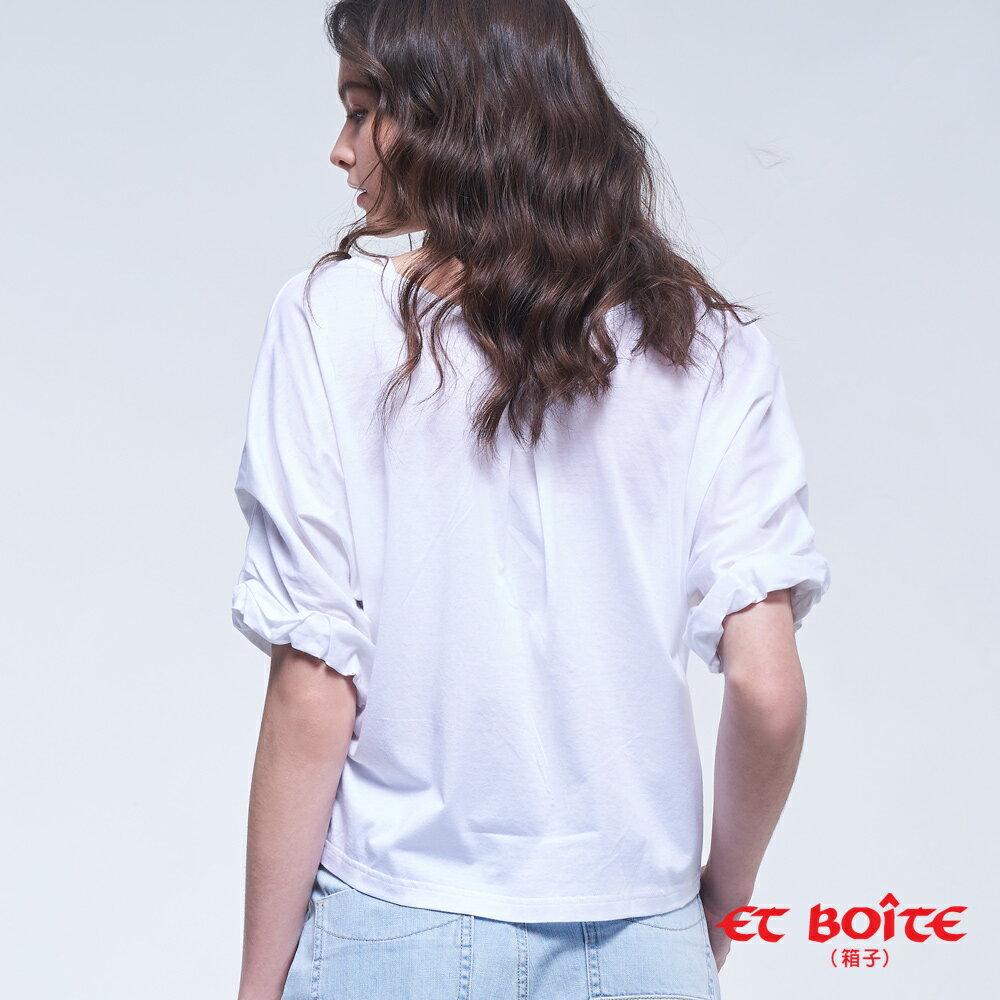 【2020春夏新品】基本前後穿開襟衫(白)- BLUE WAY ET BOîTE 箱子 - BLUE WAY  ET BOiTE 箱子 2