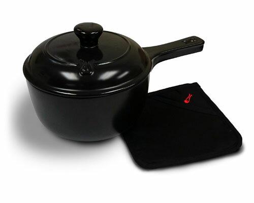 鼎上坩堝陶瓷鍋具~1.4公升單把陶瓷湯鍋(型號99598)