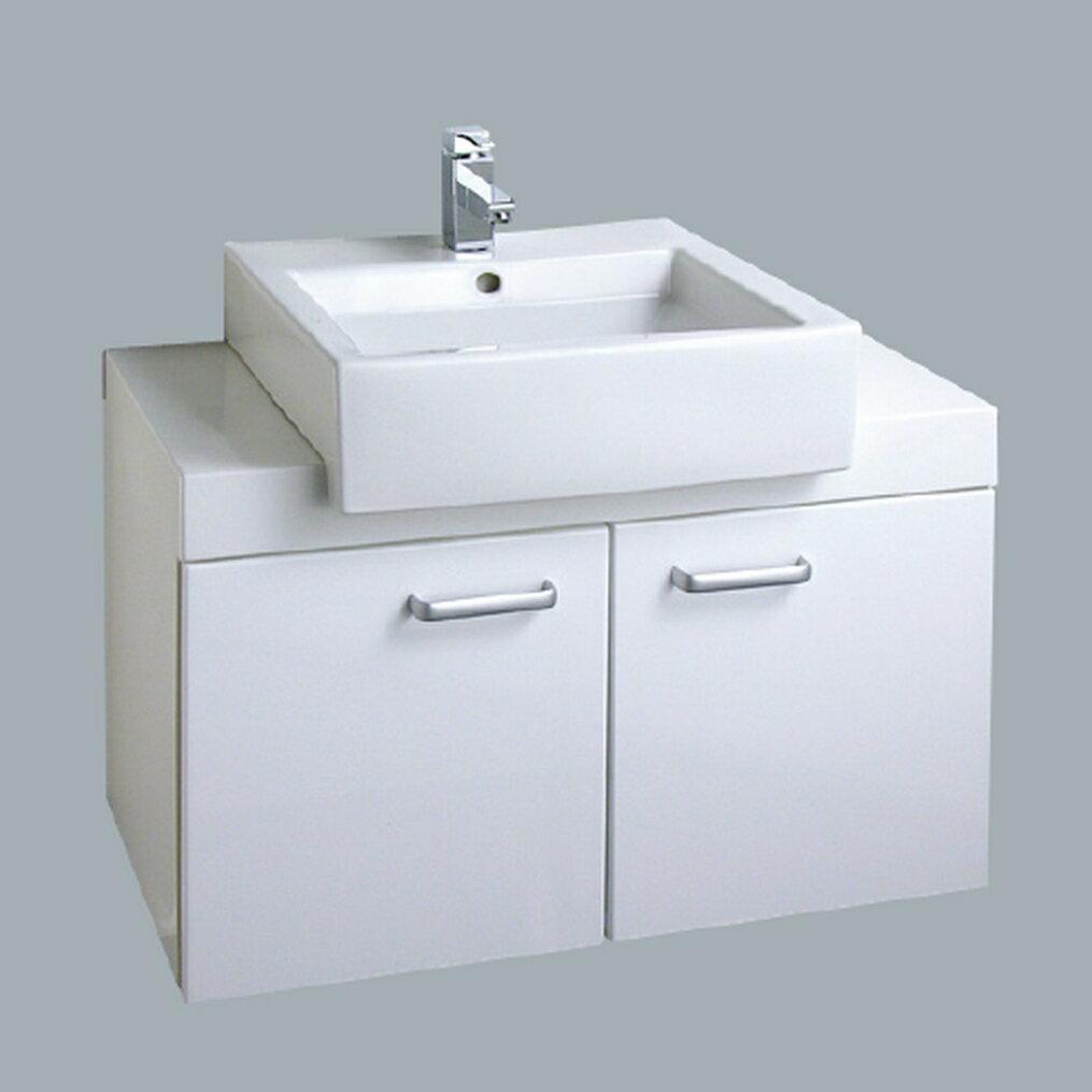 HCG臉盆浴櫃/不含水龍頭 /L55SAdb+LCP55B
