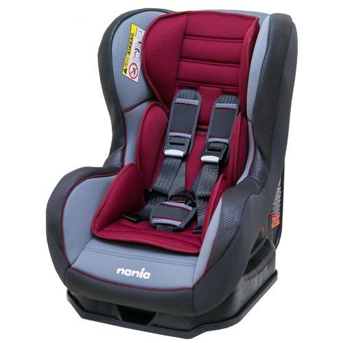 NANIA 納尼亞 0-4歲安全汽座(安全座椅)-素面紅色(FB00385)★衛立兒生活館★