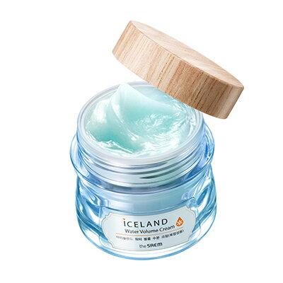 【即期良品】韓國the SAEM ICELAND 水嫩乳霜-混合肌-80ml Iceland Hydrating Water Volume Cream (For Combination Skin) 【..