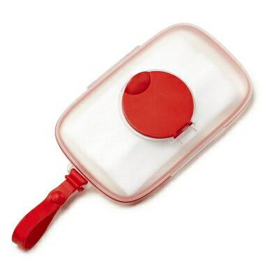風靡美國‧寶貝居家用品最佳首選 SKIP*HOP密封濕紙巾盒 - 紅色