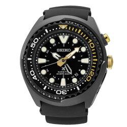 Seiko 精工錶 5M85-0AB0K (SUN045J1) PROSPEX GMT 200米人動電能潛水錶  黑 48mm