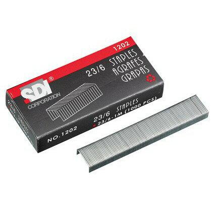 SDI手牌 NO.1202 23/6重力型訂書針 釘書針 23/6-1M 1000pacs
