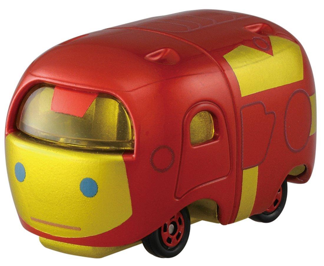 X射線~C872153~Tomica TsumTsum 漫威鋼鐵人車 ,玩具車  迴力車