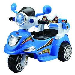 寶貝樂 衛士摩托車-藍色(BTY1015B)
