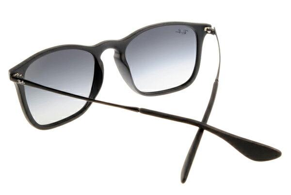 Ray Ban 雷朋 黑邊黑鏡 RB4187 太陽眼鏡 6