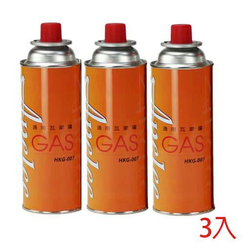 APELEE 通用瓦斯罐3入/組【愛買】
