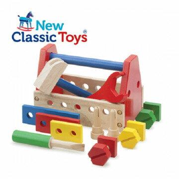 免運費《荷蘭NewClassicToys》木製基礎小木匠工具組