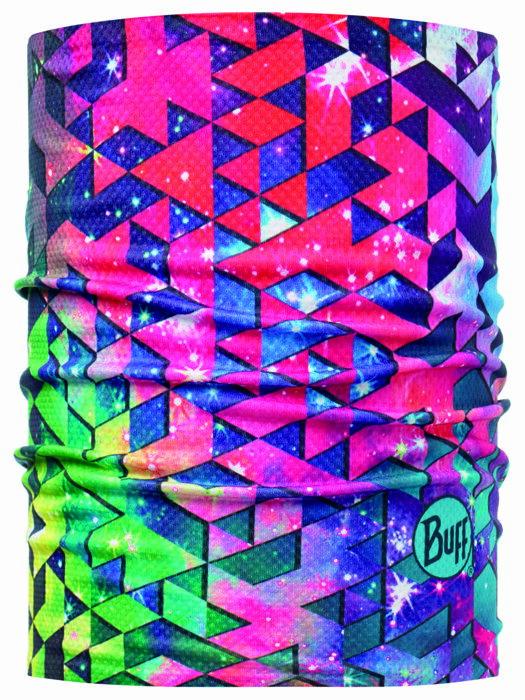【【蘋果戶外】】BF108635 西班牙 BUFF 銀離子快乾頭盔巾 彩色擂台 透氣吸汗速乾登山單車慢跑瑜珈旅行頭巾