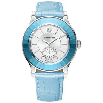 Swarovski 施華洛世奇 Octea Classica 水晶錶圈時尚腕錶/513187白面39mm