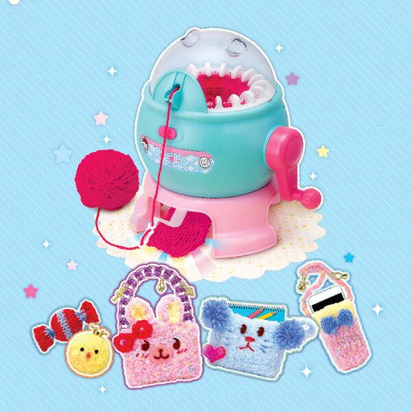MIMIWORLD可愛巧手針織機DIY手做【鯊玩具ToyShark】