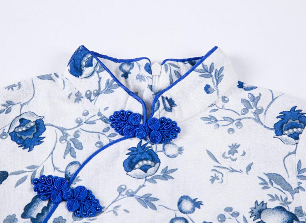 ✤宜家✤時尚可愛寶寶旗袍紗裙11 喜氣洋裝 兒童過年服裝 禮服(大集合) 1