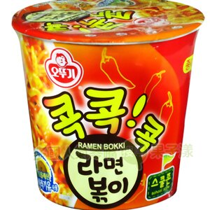 韓國不倒翁 杯麵 泡麵 辣炒年糕風味[KR032] - 限時優惠好康折扣