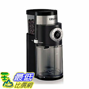 [106 美國直購] KRUPS GX5000 Professional Electric Coffee Burr Grinder with Grind Size and Cup Selection,..