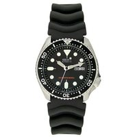 Seiko Divers Mens Auto Date Day Stainless Steel