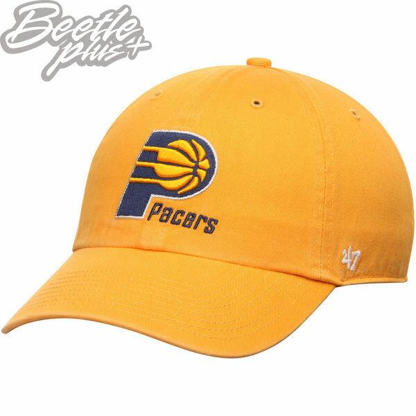 現貨BEETLE47BRAND老帽INDIANAPACERS黃印第安納溜馬NBA