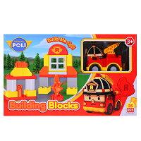 積木玩具推薦到ROBOCAR POLI 羅伊積木組 RB61989★衛立兒生活館★就在衛立兒生活館推薦積木玩具