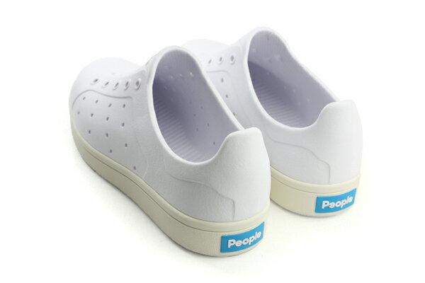 people  休閒鞋 童鞋 白色 大童 no003 1