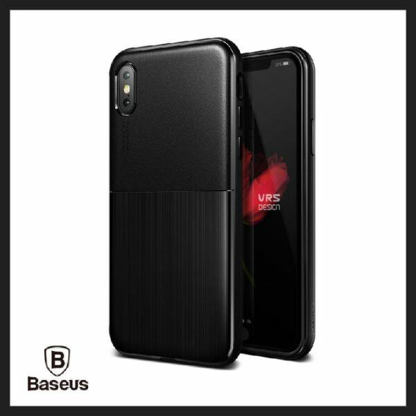 倍思SingleFit-iPhoneX高抗摔髮絲紋保護殼韓國原裝進口手機套蘋果生日禮物