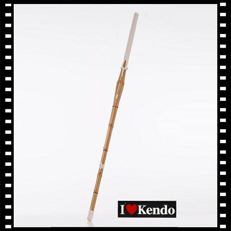 I LOVE KENDO 竹 竹劍 竹刀 劍道 39仕組練習用劍 日本劍道竹劍-附刀鍔  120 cm