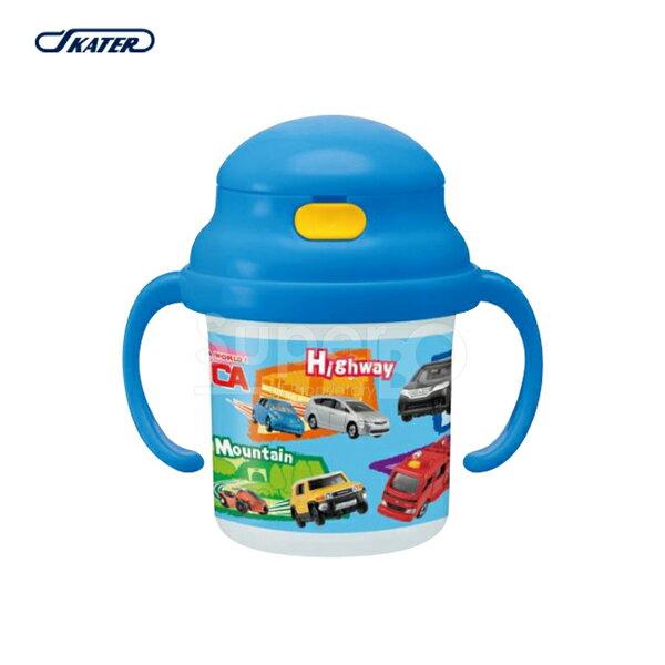 Skater 雙握把吸管練習杯/水壺/水杯 230ml TOMICA多美小汽車