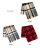 日本CREAM DOT  /  ストール マフラー チェック柄 ファッション小物 大判 タータンチェック 大人 上品 エレガント フェミニン ブラウン ベージュ レッド  /  a03583  /  日本必買 日本樂天直送(2790) 5