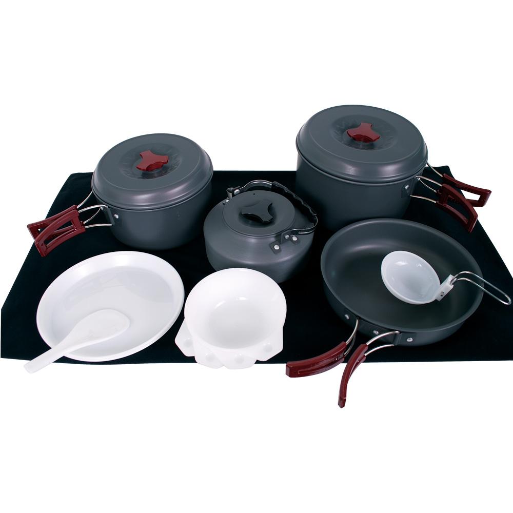 ├登山樂┤臺灣 RHINO 犀牛 K-4 四人輕便套鍋Cooking Set # K-4