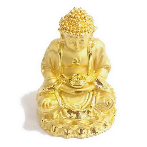 釋迦牟尼佛 5.5公分 小佛像/法像-金色
