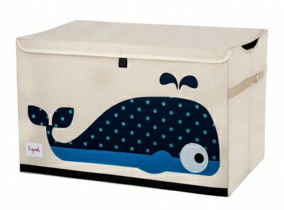 加拿大3Sprouts玩具收納箱-小鯨魚★衛立兒生活館★
