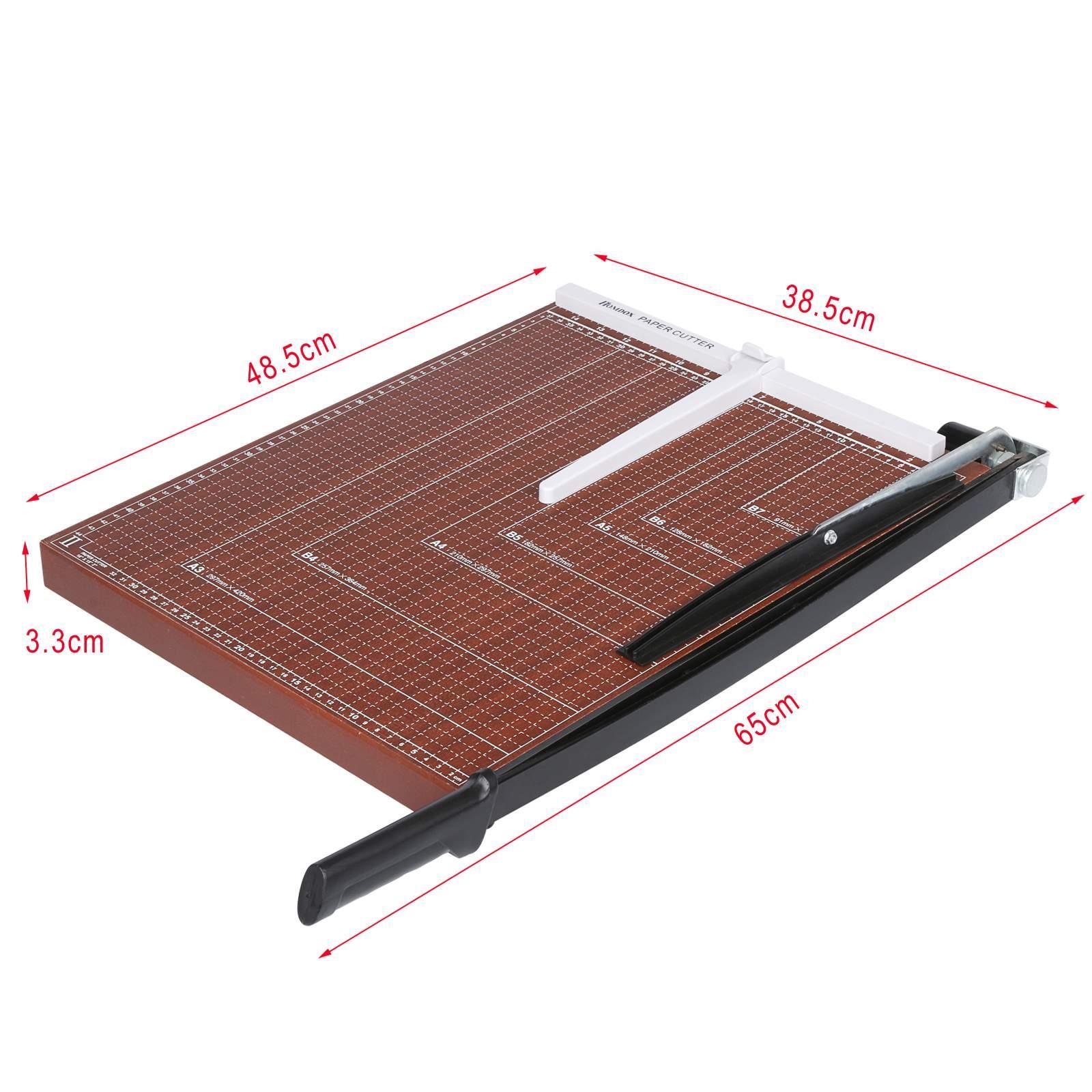 Wooden Paper Cutter A2-B7 2