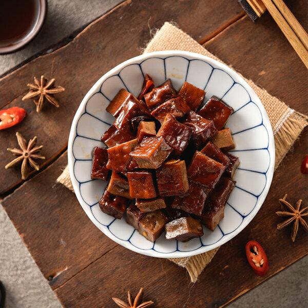 辣味手工立方豆干 古法滷製 真空包裝 全素可食 200g/包