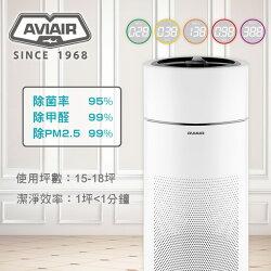 AVIAIR AVI-600智能ECO空氣循環清淨機-除菌率>95%、除甲醛>99%、除PM2.5 >99.9%