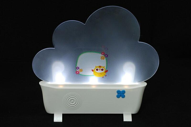 【凱樂絲】太陽能省電LED古典音樂夜燈(雲朵造型) (給愛麗絲, 卡農...) 4