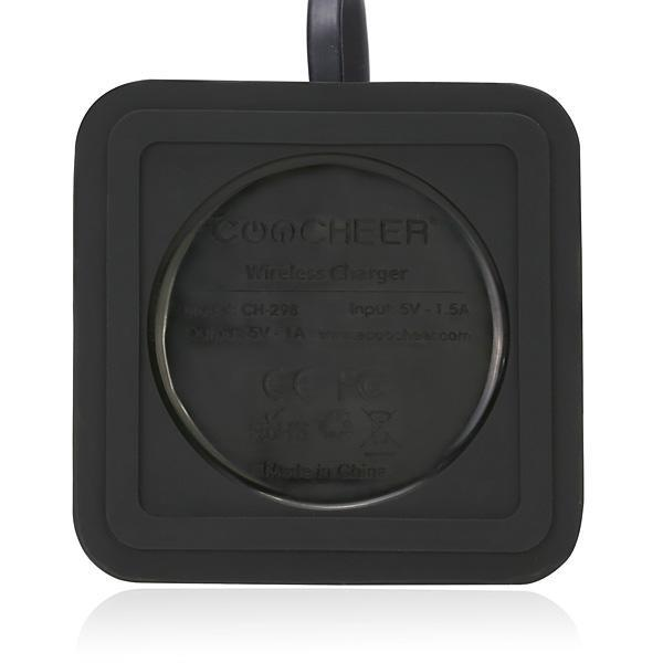 Wireless Charging Transmitter For Samsung and All Smart Devices-Black Color 3