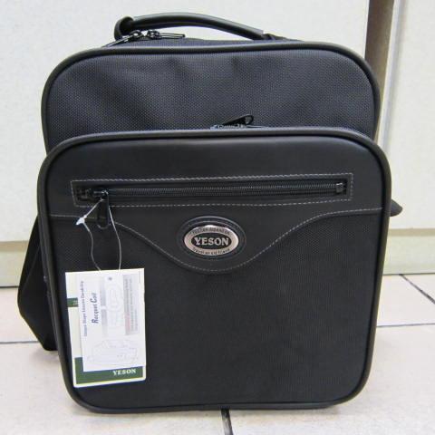 ~雪黛屋~YESON 文件包 工具袋 隨身物品包 多功能萬用包 高單數防水尼龍布材質 #3396 黑
