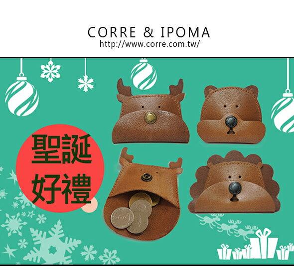 CORRE-真皮動物零錢包