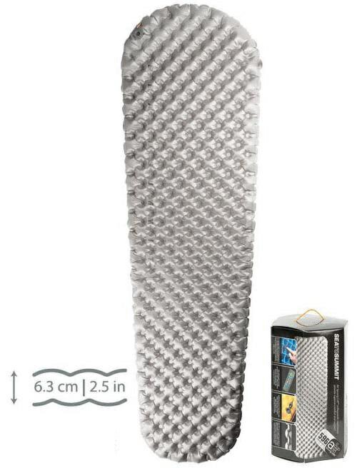 Sea to Summit 舒適獨立氣筒睡墊/登山睡墊 舒適Plus系列-標準版-S 灰(含維修備品) Comfort Plus Mat STAMCPS