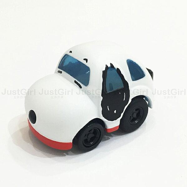 TOMY 玩具車 小汽車 史努比 SNOOPY  阿Q車 迴力車 玩具 正版日本進口 * JustGirl *