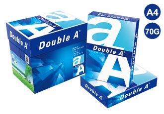 Double A A4影印紙70磅(箱購)- A4(5包/箱)