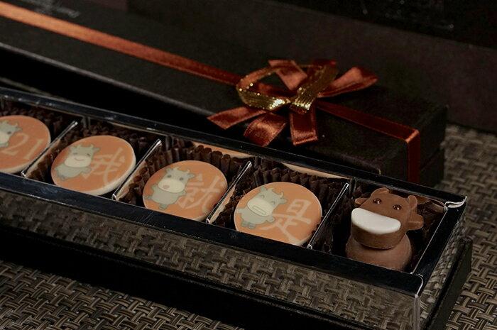 【糖加一烘焙坊】牛年~創意賀春。巧克力禮盒/糖+1/情人節/創意/過年/伴手禮/吉祥/禮物/節日