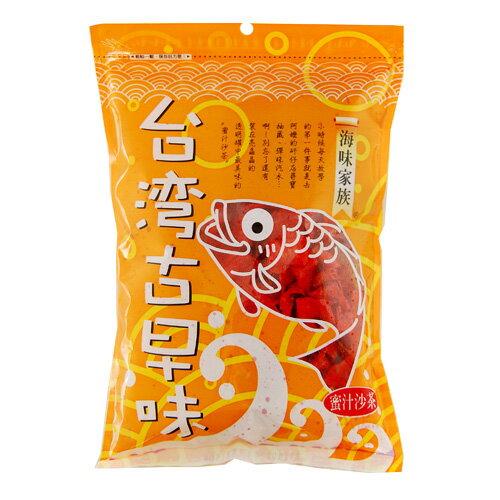 愛買線上購物:海味家族蜜汁沙茶150G包【愛買】